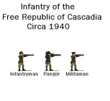 Cascadian Infantry by crisandm