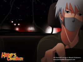 kakashi and his car by annria2002