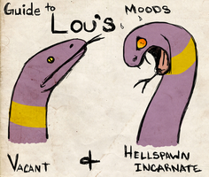 Lou's Mood Chart by TamHorse