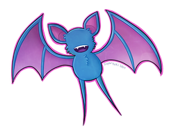 It's a Zubat! by Pastel-Circus