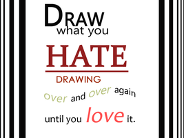 Draw what you hate by Avibroso
