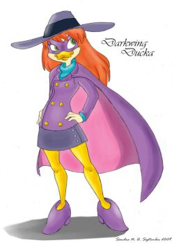 Darkwing Ducka Color by Kimbawest