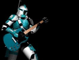 Clone Trooper Jammin Updated by Namelessblob