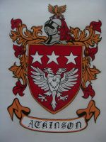 Atkinson Family Crest by Snobrdchic