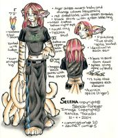 Commission 5 - Selena ref by Nanuka