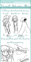 yourself adventure meme by Sally78