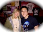 Me w/ Ashleigh Ball by HeyLookASign