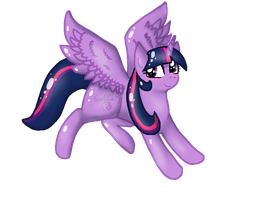Alicorn Twilight by SoulCats