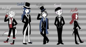 Gentlemen by PvElephant
