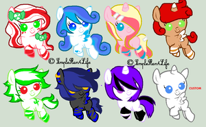 MLP FILLY/COLT ADOPTS- 10 PTS CLOSED by Arxielle
