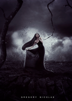 Lady Of Darkness by GregoryNicolas
