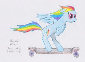 Speeding Rainbow by RelativelyExtreme