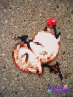 Relaxing Moogle Bead Sprite by SerenaAzureth