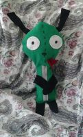 One Of A Kind Custom Gir Plush Toy (2nd one) by Ilovesouthparkyaoi