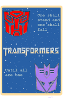 Transformer quilt by loaves