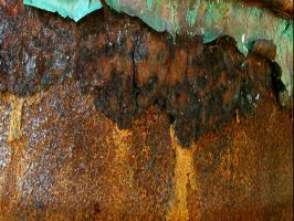 Rust and Peeling Paint by nitch-stock