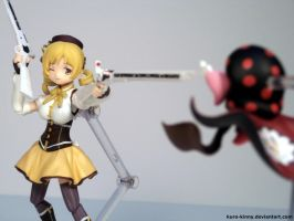 Mami and Charlotte - Payback with a Smile by Kuro-Kinny