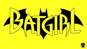2011 The New 52 Batgirl Comic Title Logo by HappyBirthdayRoboto