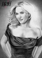 Kate Winslet WIP 2 by riefra