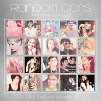 Pack Random Icons by Valusauriox3