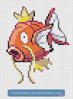 Magikarp by Hama-Girl