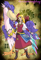 Skyward Sword - Zelda by Cclaire110