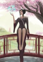 Mai, Before the Attack by Zarory
