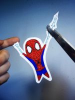 Cutting The Spiderman's Web by laura22elle