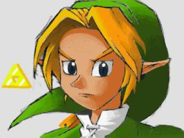 Link 'Painting' by PATUX3T