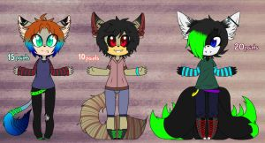 4# Adoptables  by Gaby-Kagamine-cat