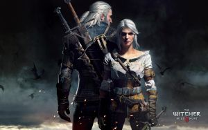 Witcher3 Geralt and Ciri 1920x1200 by Scratcherpen