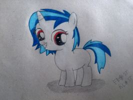 Filly Dj Pon-3\Vinyl Scratch ~ Frost Blast by FireFlash-FrostBlast