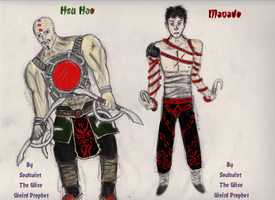 Hsu Hao + Mavado - Redesigned by TheWiseWeirdProphet