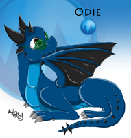 Dungeons and Dragons- Dragon Odie by Kiwi-ingenuity123