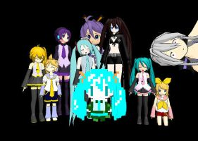 All my MMD models Part 1 by Supersonia