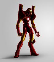 Evangelion - IronMan by Massakin