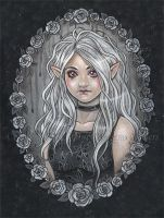 Memory of the roses by delphineart