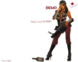 team fortress 2 demo by iFrau