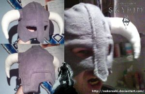 Dragonborn's Plush Helmet by NekoRushi