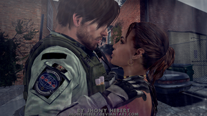 Chris and Sheva by JhonyHebert