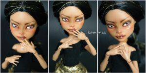 Thema OOAK Doll Repaint by kamarza