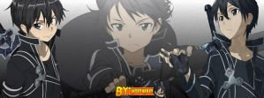 Capa para Facebook/Cover for Facebook - Kirito by LucasKirito