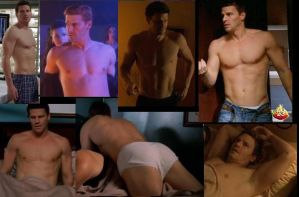 David Boreanaz collage after ANGEL by slayerxy