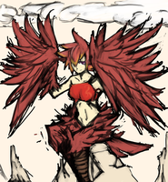 :+: Phoenix Harpy:+: by Endless-warr