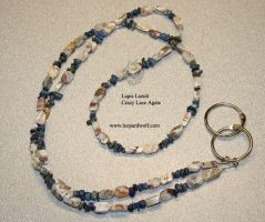 Crazy Lace Lanyard by leopardwolf