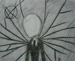 Slenderman by MAD-as-a-HATTER12