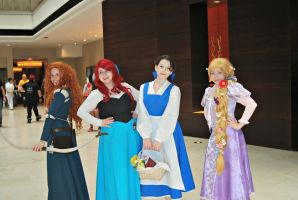 Acen: Disney Princesses by tothestarsandback
