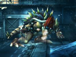 Giga Bowser by PolishStitch