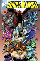 Heroes Alliance 0 Benefit Ed. by LegacyHeroComics