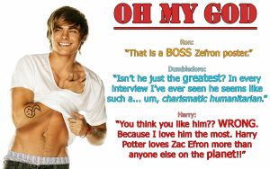 That is a BOSS Zefron Poster by magicglitter